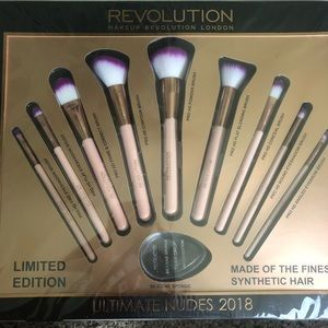 LIMITED EDITION  REVOLUTION ULTIMATE NUDES 2018